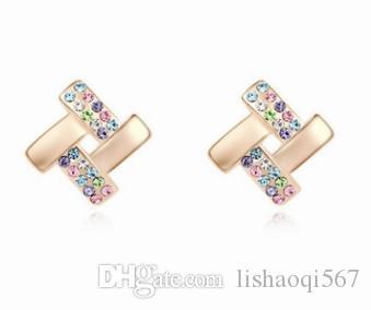 Noble baixo preço de alta qualidade mais cor de diamante de cristal jade 925 da prata da mulher (10.16f