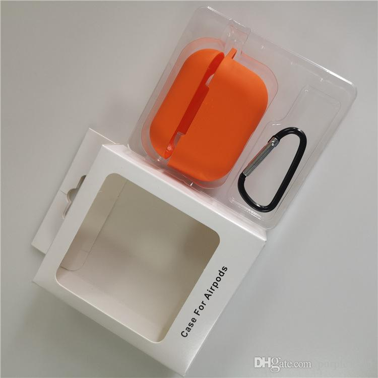 2020 Fashion Silicone Case For Airpod Pro Airpod 3 With Hook For