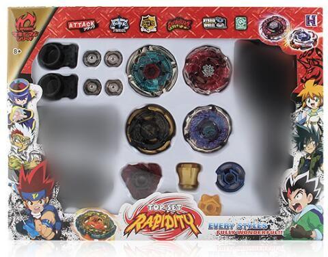 3 Stil İplik beyblade metal fusion 4D Launcher Grip Tops Set Fight Master Nadir beyblade Klasik oyuncaklar Çocuk oyuncakları Hediyeler