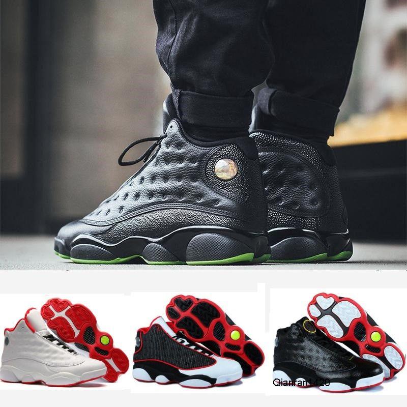 Hot 13 13s zapatos de baloncesto del hombre verde isla CORTE PURPLE Cap Space Jam j13Concord y plata para hombre metálico del vestido de la zapatilla de deporte Deportes Formadores