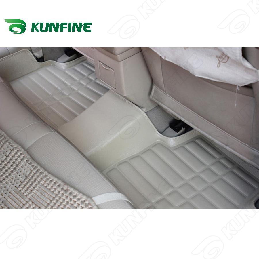 Alfombra de piso de coche 3D para MITSUBISHI ASX/PAJERO alfombra de pie de coche almohadilla de pie 3 colores mano izquierda conductor envío de la gota