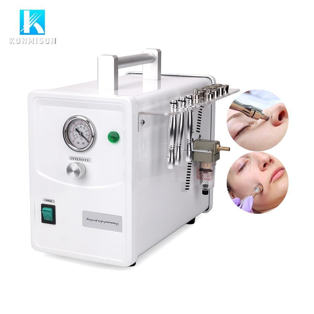 venda quente portátil diamante máquina Microdermoabrasão micro dermoabrasão para a limpeza rosto e rejuvenescimento da pele fod Salon ou uso doméstico