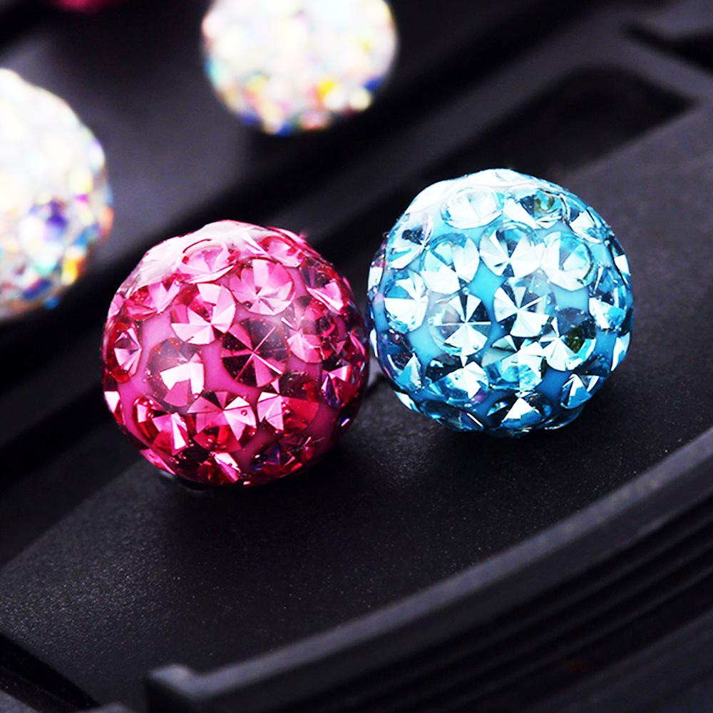 1Pc 16g Crystal Ferido Balls Circular Barbell Horseshoe CBB Ferido Epoxy Septum Rings Nose Labret Tragus Body Piercing Jewelry
