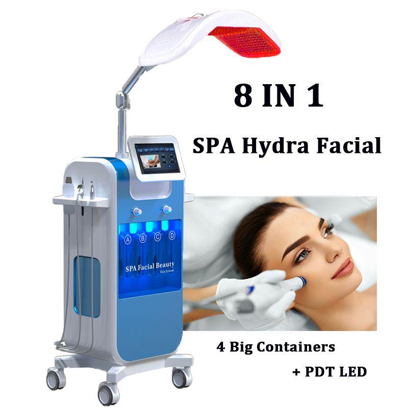 Hydro Microdermoabrasão Hydra Máquina Facial Cuidados de pele Cuidadores Aqua Aqua Jet Oxigênio Peeling Spa Dermabrasion Beleza Equipamentos