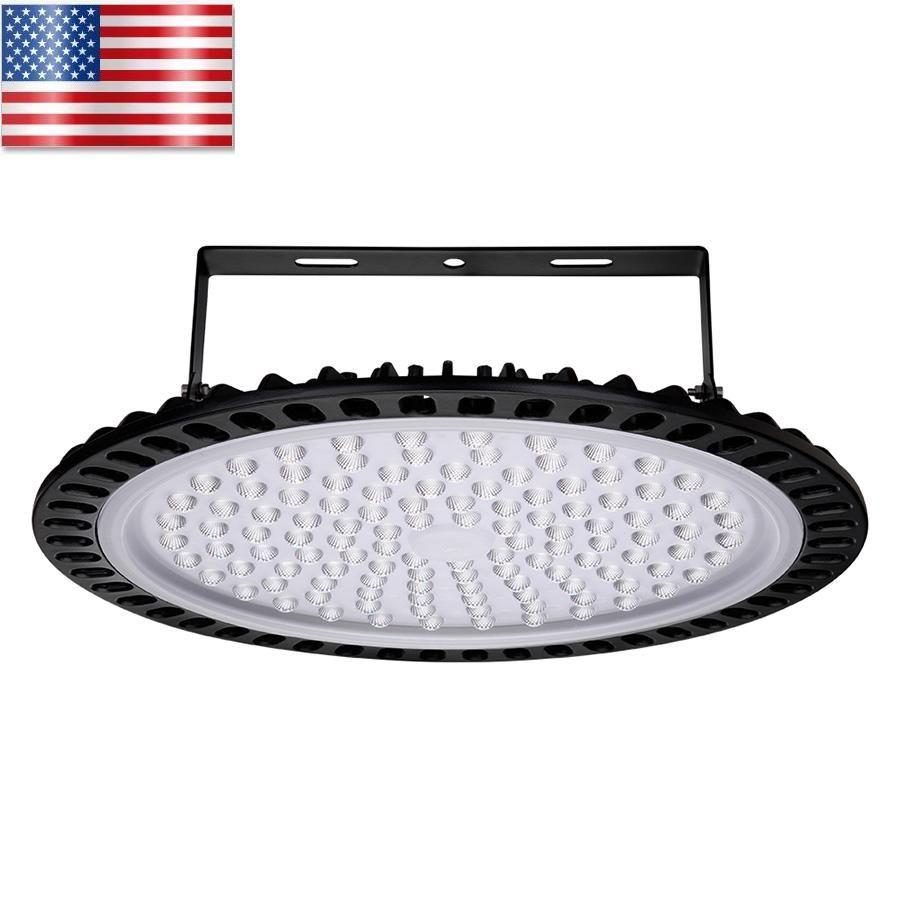 Bright LED luzes UFO Led dissipação de calor 40000LM Ultrafino alta Shed Lamp Grande sala Supermercado EUA Armazém frete grátis