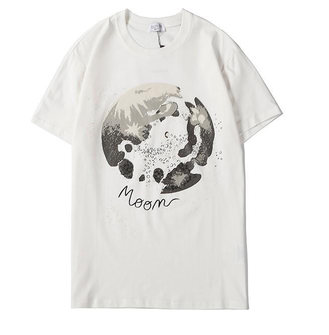 2020 Yüksek Kalite Erkek Tasarımcısı Tişörtlü Kadınlar Marka Tişörtlü Harf Baskılı Tişörtler İçin Lady Yaz Kazak Kısa Kollu Casual Gömlek 2032601Q