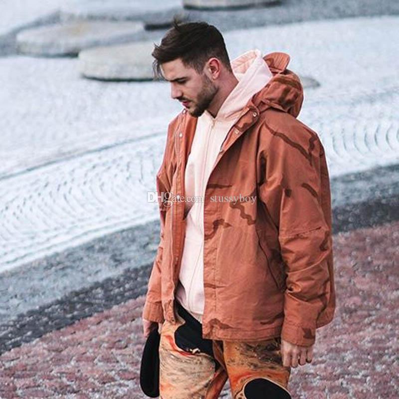 19FW Riot Maschera tattica Abbigliamento Camo Mountain Parka antivento esterno degli uomini delle donne del cappotto Via Casual Jacket Sport Outwear