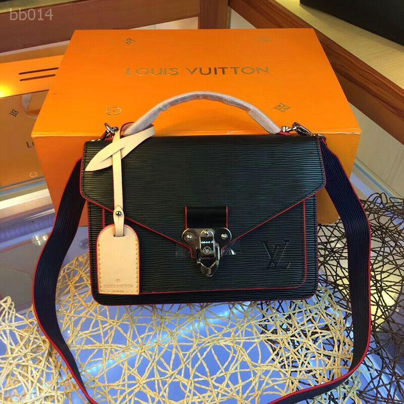 패션 노안 색상 대조 어깨 트렌드 대각선 크로스 섹션 다기능 대용량 가방 여성 크기 24x10x18cm