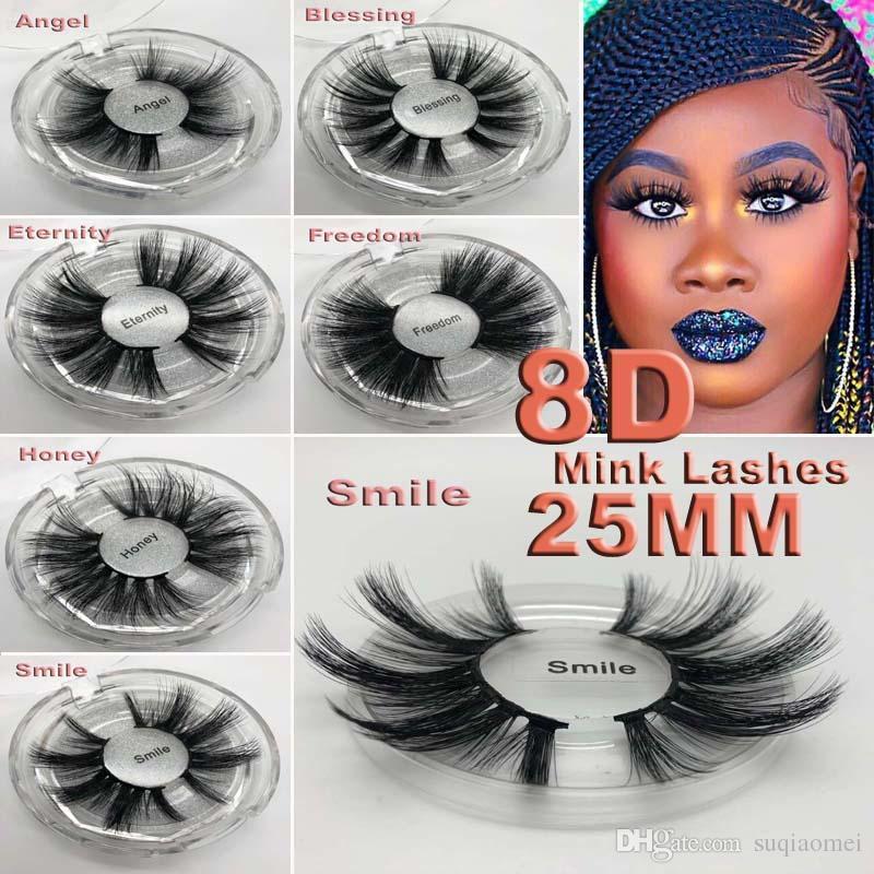 16 أنماط 5d المنك جلدة الشعر 25 ملليمتر جلدة الرموش الصناعية أفضل من 3d سميكة طويلة فوضوي رموش تمديد العين أدوات ماكياج