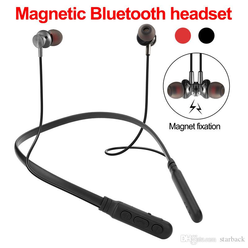 M8 Bluetooth Headset Wireless Headphones Sport Magnetic Neckband Earphone With Microphone For Iphone Xiaomi Huawei With Retail Box The Best Earbuds Handsfree Headset From Starback 4 3 Dhgate Com