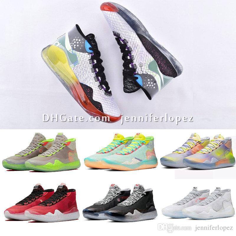 2019 Hot Mvp Kevin Durant KD 12 Anniversary University 12S XII Oreo мужская баскетбольная обувь USA Elite Kd12 спортивные кроссовки размер 40-46 jenniferlo