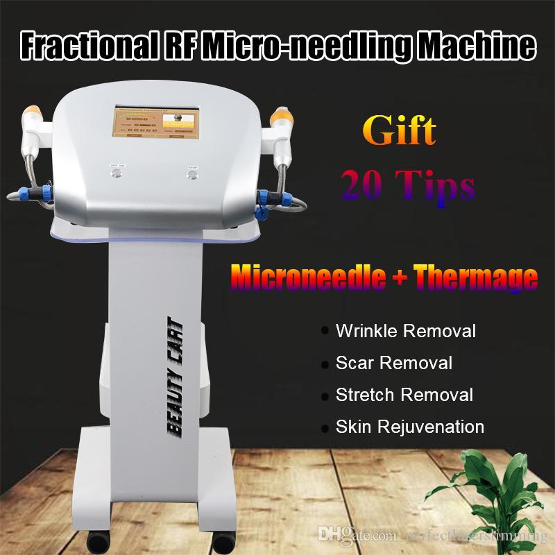 2019 fractional rf micro needle device micro needling derma pen radio frequency skin treatment 81,49,25 needles and SRF tips