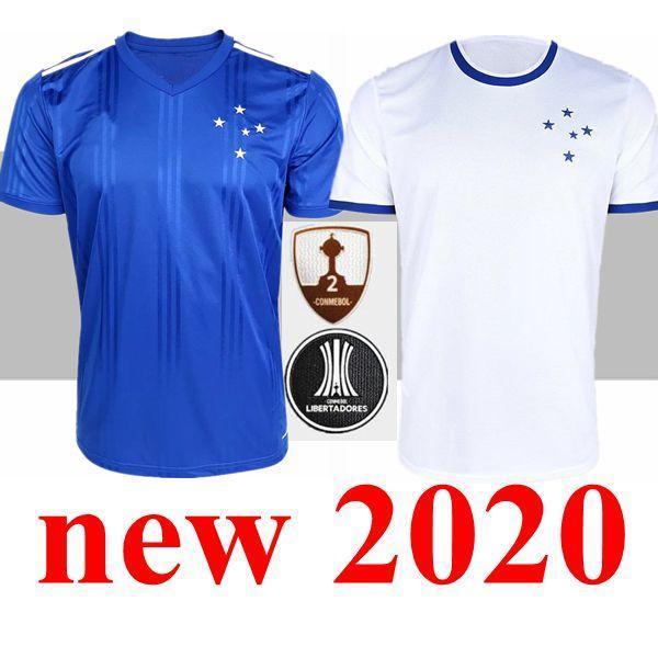 2020 2021 nova CRUZEIRO Soccer Jersey 19 20 DE Arrascaeta FRED ROBINHO THIAGO NEVES camisa de futebol Cruzeiro casa clube brasileiro Camisas Sassa