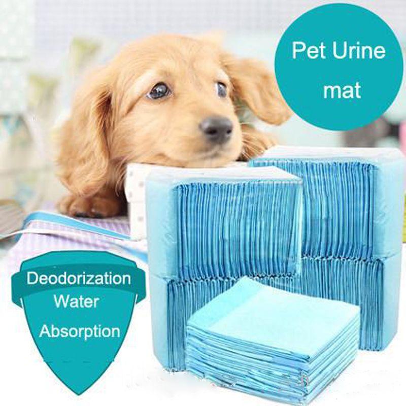 Ücretsiz kargo Toptancılar Kuru PET Pedleri Sağlıklı Pet Paspaslar Pet Köpek Kedi Bezi Süper Emici Ev Eğitim Pedleri Yavrular için Polimer FY8010