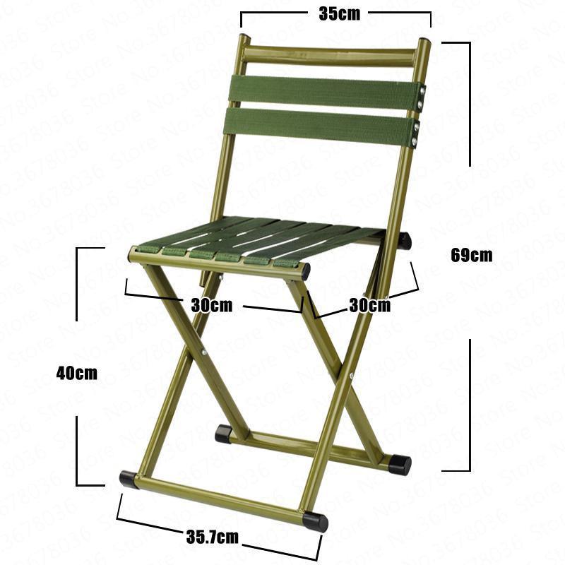Dicker Klapphocker Erwachsener Kleine Pferde Hocker Hocker Kleiner Stuhl Tragbare Klappstuhl Mazar Outdoor Angeln Stuhl