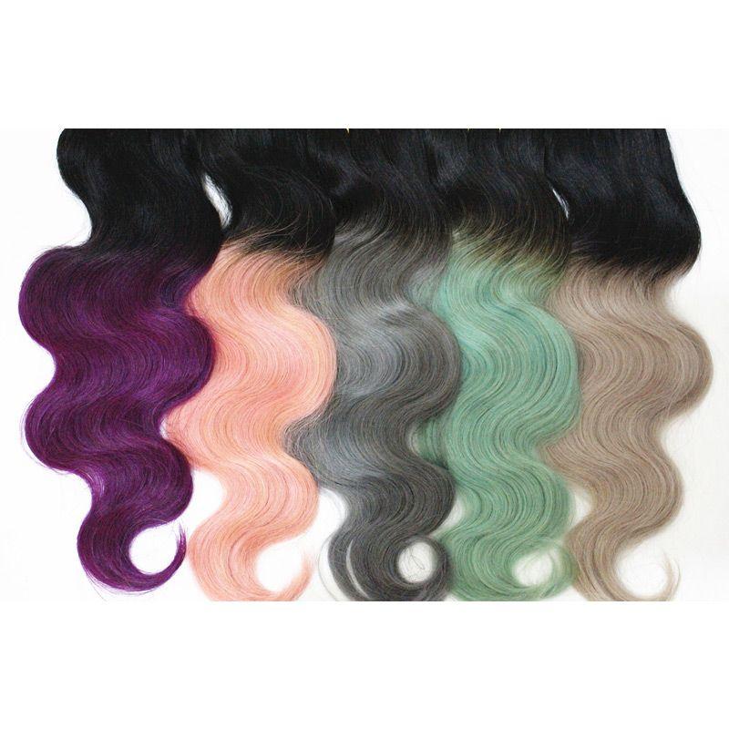 희소식 다채로운 직선 바디 웨이브 헤어 익스텐션 버진 인간의 머리카락 브라질 인도 말레이시아 머리 위브 10-18inch