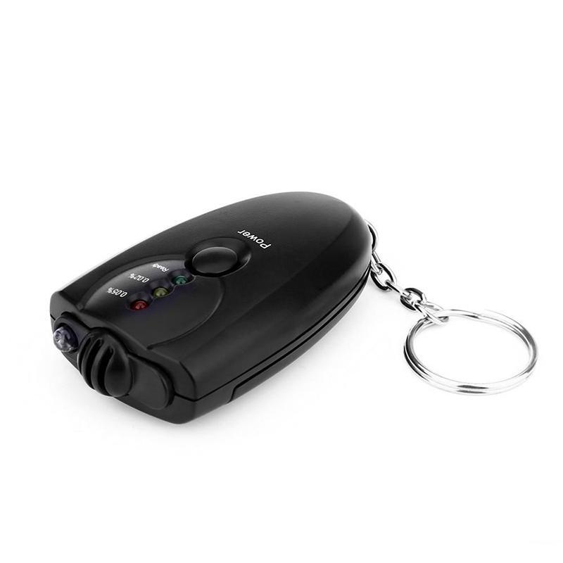 Meistverkauften digitalen Atemalkoholtester mit LED-Funktion, Bordwerkzeug, tragbare Alkoholtester, Diagnosewerkzeug, Schlüsselanhänger