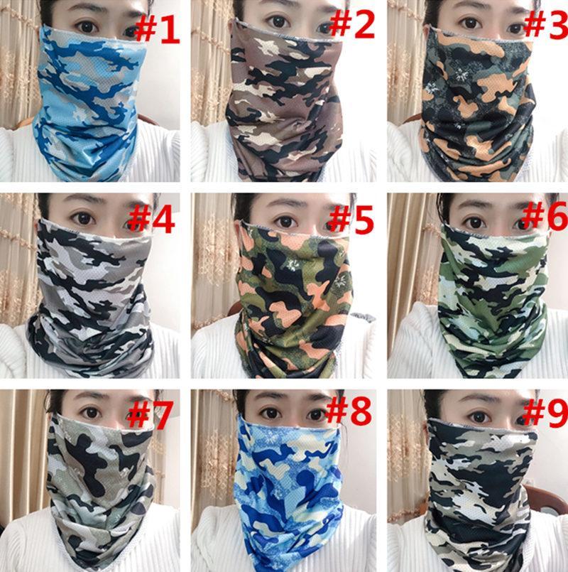 위장 사이클링은 남성과 여성 입 얼굴 커버 세탁 디자이너 masks500pcs T1I1962에 대한 자외선 마스크를 마스크