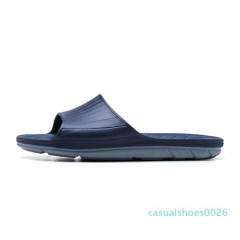 Gear terlik 2020 Yeni Tasarımcı 9083 C26 terlik flop erkek Kaymaz yaz terlik kapak nedensel çizgili sandaletler slayt fondip