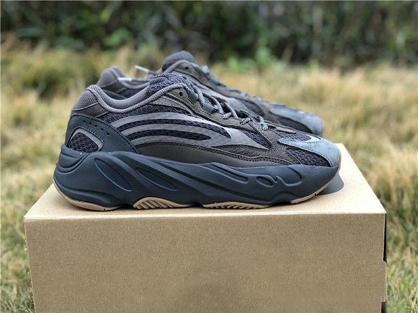 Compre Adidasyeezy350v2Yeezys700 500 380 Kanye Con La Caja 700 V2 Geode Marrón Gris Para Mujer Para Hombre De Los Zapatos De Baloncesto De Los