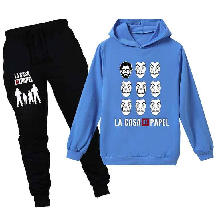 Tops + Pantolon 2adet / set çocuk tasarımcı kıyafetleri erkek takım elbise bebek Ceket pantolon Çocuk Giyim Seti Sıcak Satış Moda Triko Moda eşofman