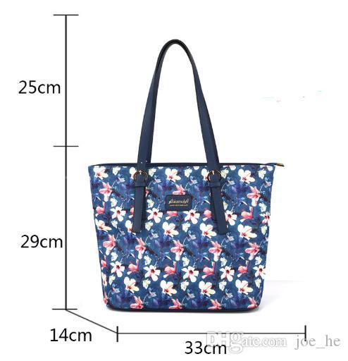 Designer-Druck Ins Färben Blume und Umhängetasche Spezielle Windpaket Alter Einzelpaket Shopping Schrägsender Freizeit Support Satchel Zeitsofb