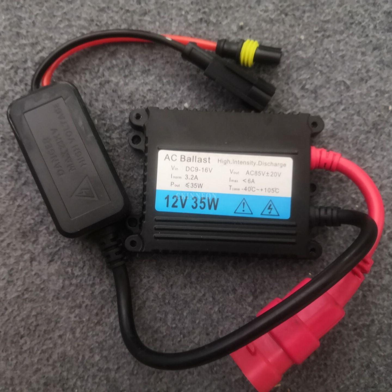 /Много 12V 35Вт 55Вт 50шт AC HID тонкий балласт высокого качества 14 месяцев гарантированности тонкий спрятал балласт для спрятанный набор ксенона Н1 Н3 Н4 Н7 Н11 12В