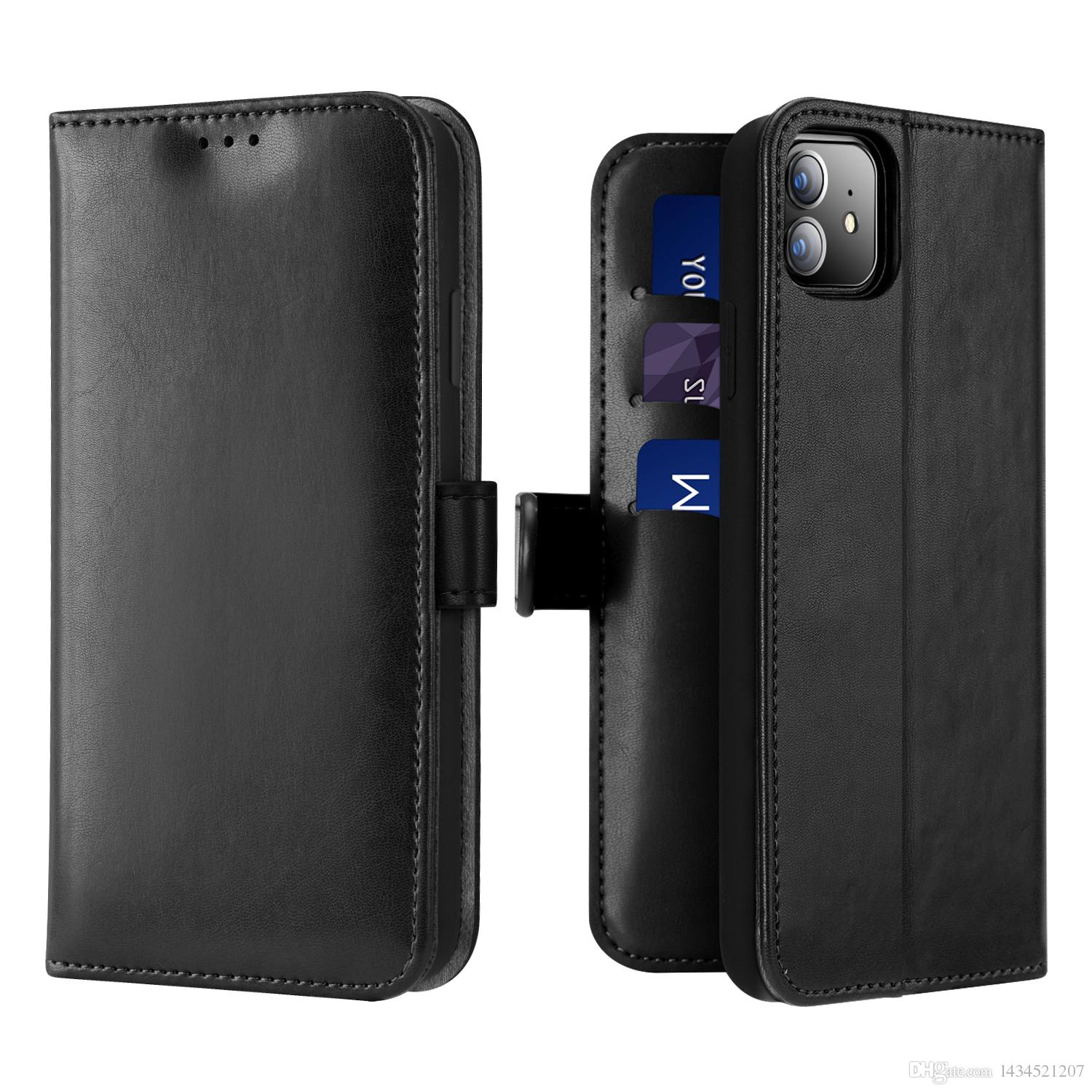 FOR IPHONE 11 KADO Wallet luxury PU leather mobile phone Card slot Convenient to receive temperament