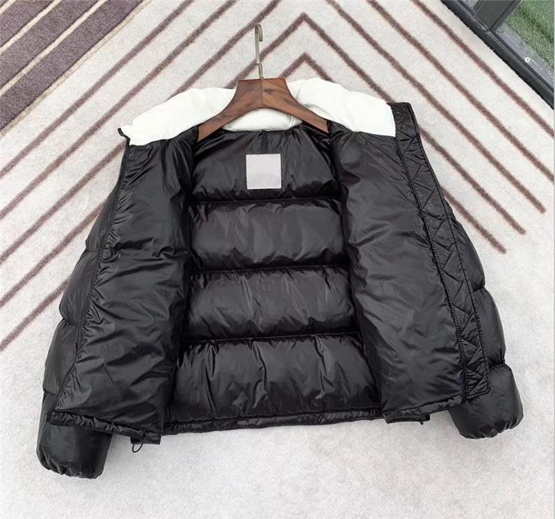 Donna inverno giacca designer Parka con cappuccio cappotto del piumino riflettente Slim Windbreaker Marca Zipper spesso di alta qualità giù ricoprono il commercio all'ingrosso