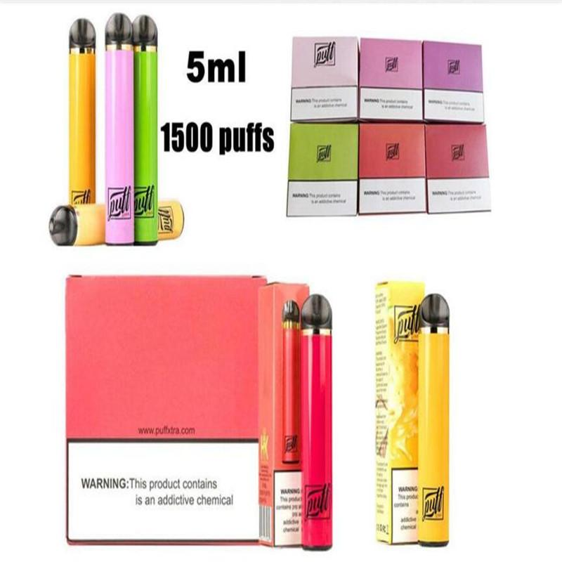 XTRA DISPOSABLE VAPE pen mini e cigarette 5ml pod tank cartridge disposable vaporizer multi flavor puff bar mega pen e cig kit DHL shipping