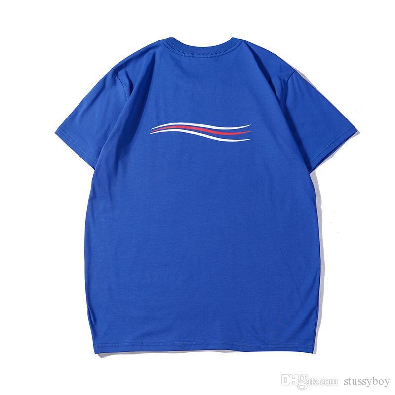 20SS Mens T Shirt Hip Hop Mens высокого качества тенниска Мужчины Женщины Лето Футболка с коротким рукавом Тис Размер S-XXL