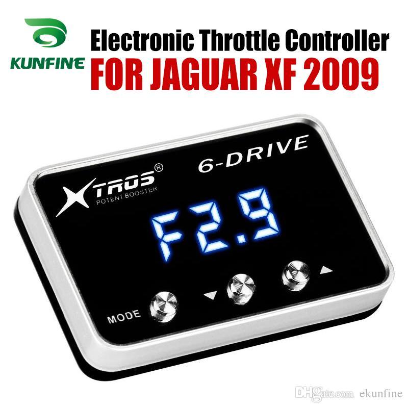 Voiture d'accélérateur électronique contrôleur Racing Accelerator Booster Pour Potent JAGUAR XF 2009 Pièces Tuning Accessoires