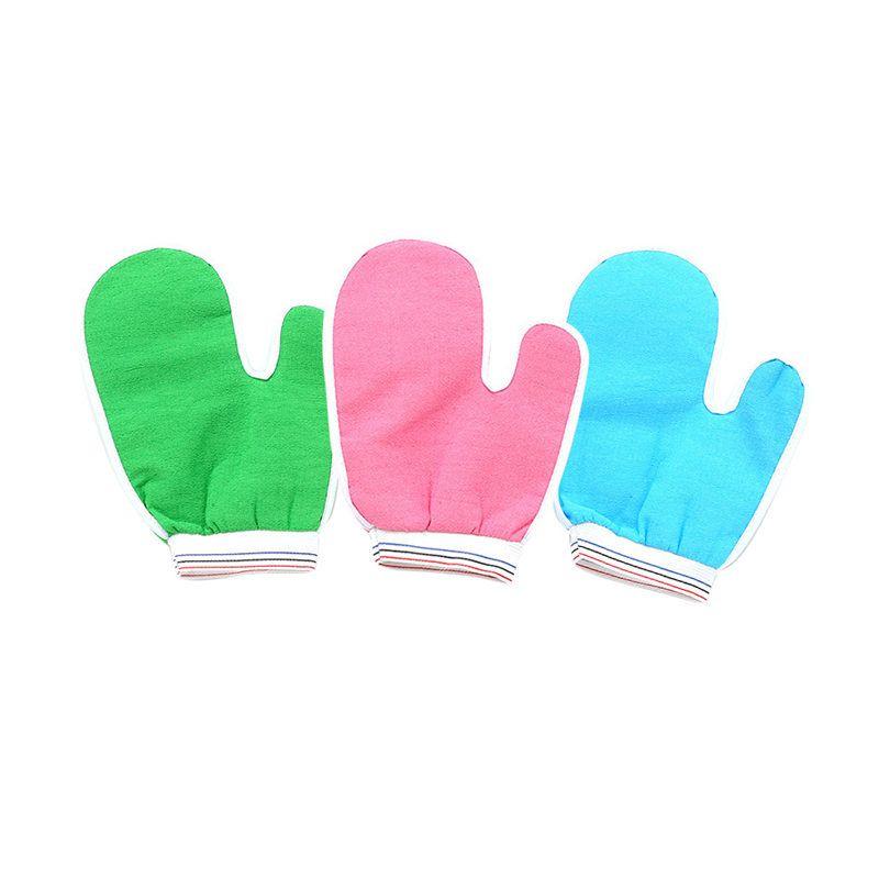 Luvas Bath Cuozao / Banho Luva pequeno Rub Pano / Cuozao Toalha, Magic Peeling esfoliante banho Glove