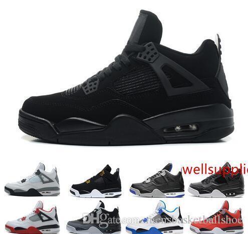 Cutus gros Jack Hommes Chaussures de basket-4 4s chaussures noir blanc taureau en colère RAPTORS SVCC me athlétique mode sport design taille eur 7-13