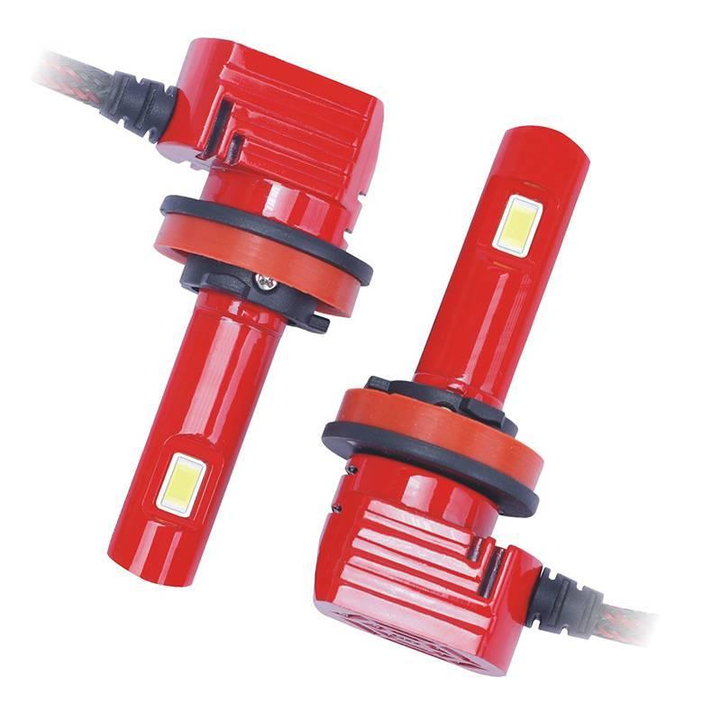 2 x H8 H9 H11 72W 5000lm LED Far Ampüller Dönüşüm Kiti 6000K Yüksek Kısa Far