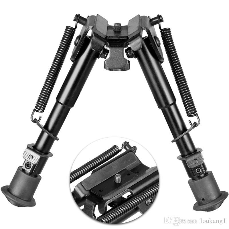 """에어건 Painball 6 """"-9""""전술 소총 양각대 포어 그립 마운트와 완벽하게 조절 스프링를 꺼내 다리"""