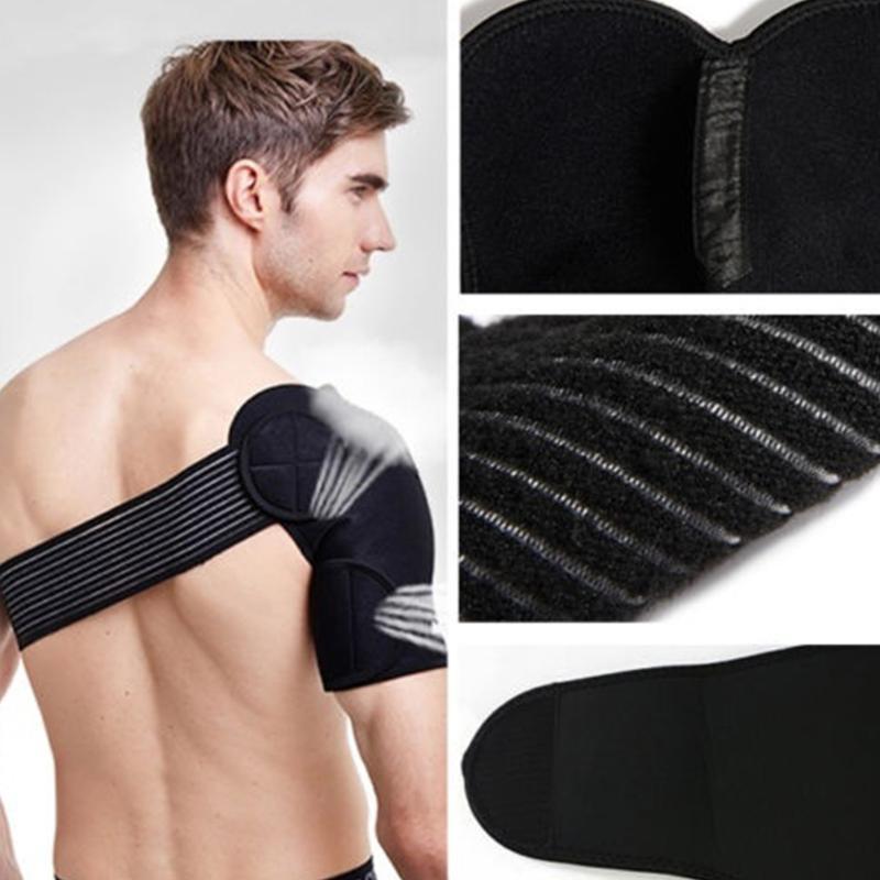 Verstellbare Schulterstütze Schulterluxation Injury Arthritis-Schmerz-Bügel-Unterstützung für Männer Frauen