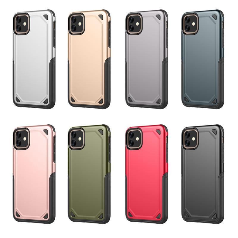 Hybrid Armor Shockproof Slim Mobile Phone Case for Iphone 11 Pro Max X Xs Max Xr Samsung Galaxy S9 S8 Plus Note 10 9 8 J5 J7 Prime Cover