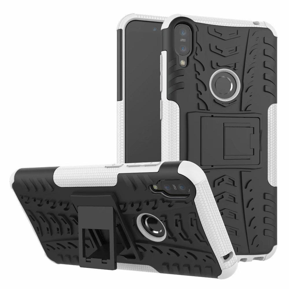 Dazzle Hybrid Impact Rugged Armor Case for ASUS Zenfone 4 Max ZC520KL ZE554KL Selfie ZD553KL Live Plus ZB553KL Shockproof Cover w Kickstand