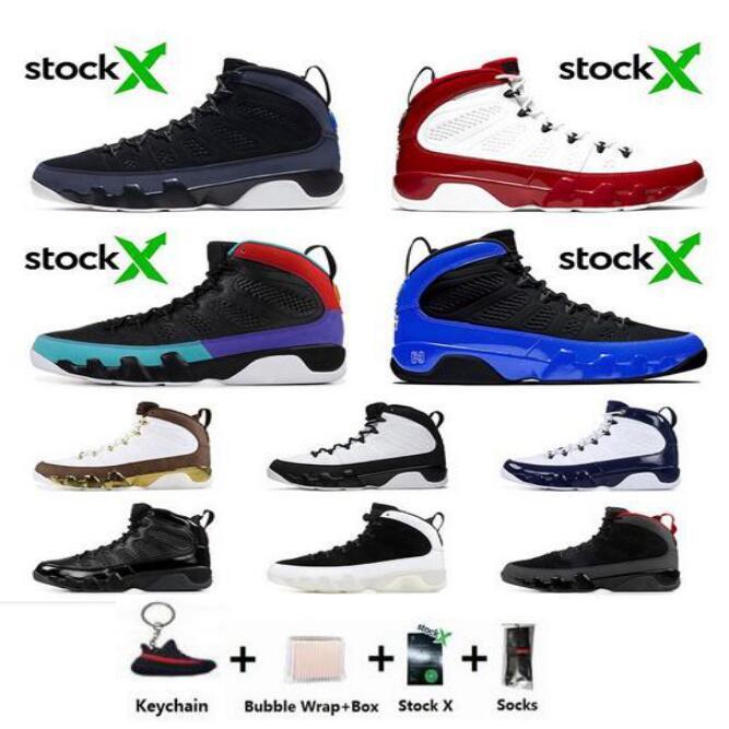 Free Socks Bred 9 9s LA Oreo New Mens