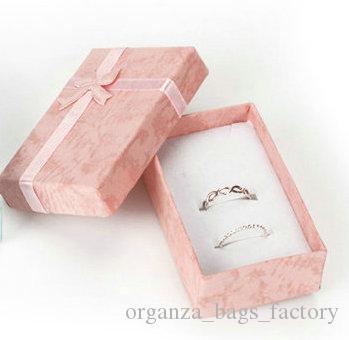 5 * 8 * 2,5 centímetros PINK Moda para Charms Gift Box Beads Embalagem para pingentes colares brincos anéis pulseiras Jóias Frete grátis
