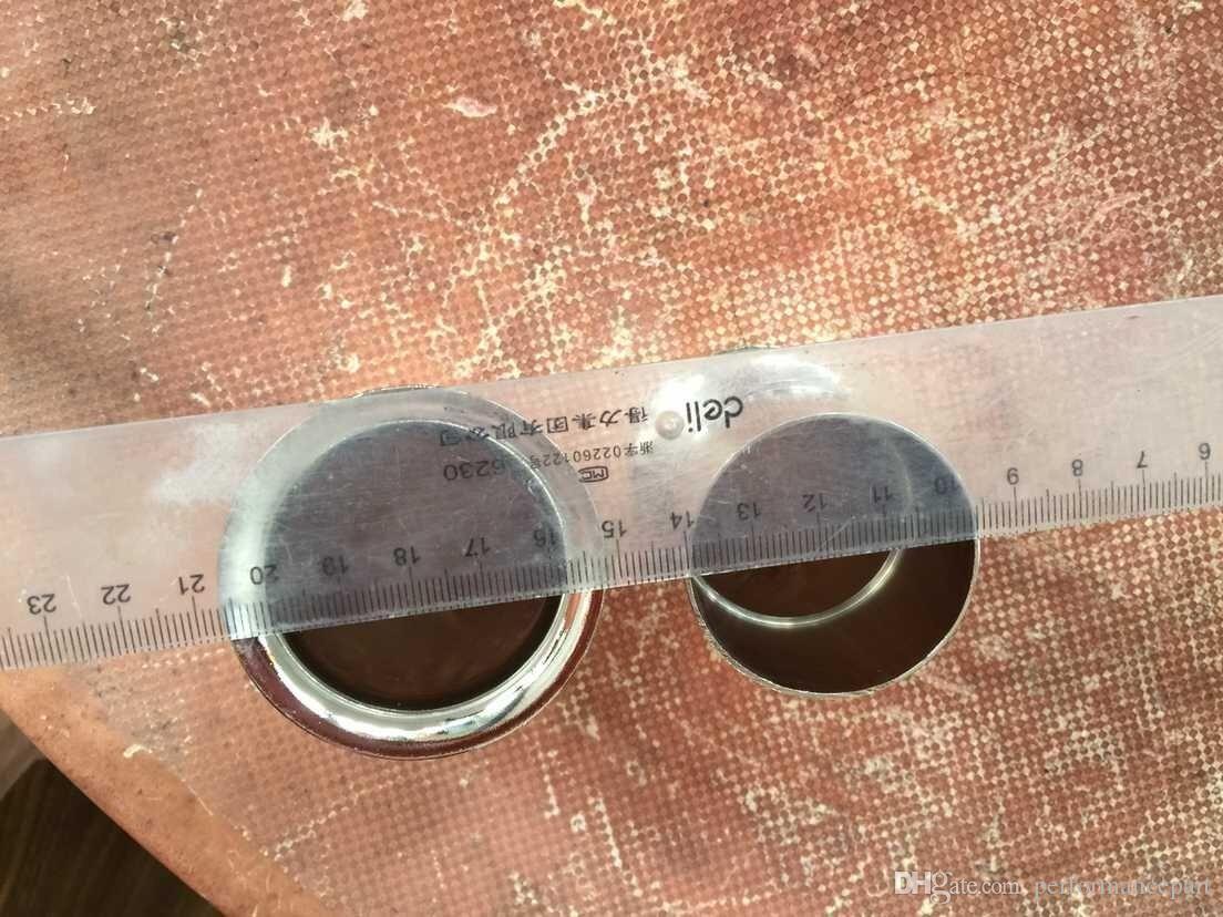 زوج (2 قطعة) سرعة مداخن الهواء أنابيب الكبش القرن البوق WEBER 40 DCOE DELLORTO SOLEX