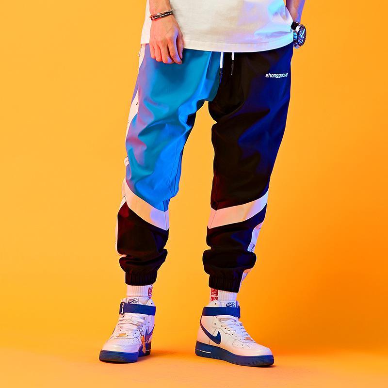 esportes designer de calças casuais marca maré hip hop streetwear dos homens calças de roupas primavera 2020 novos homens