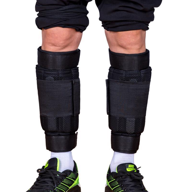 New Einstellbare Knöchel Gewicht Unterstützung Klammer-Bügel-Eindickung Beine Krafttraining Schutz-Gymnastik-Eignung-Gang 1-6kg Nur Strap