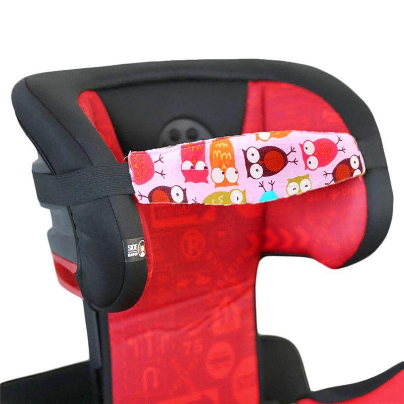 1pc enfant nouveau voiture de sécurité Siège tête de fixation auxiliaire coton Ceinture Pram Sécurisez Sangle Doze bande pour bébé Pram Siège de sécurité pour enfants