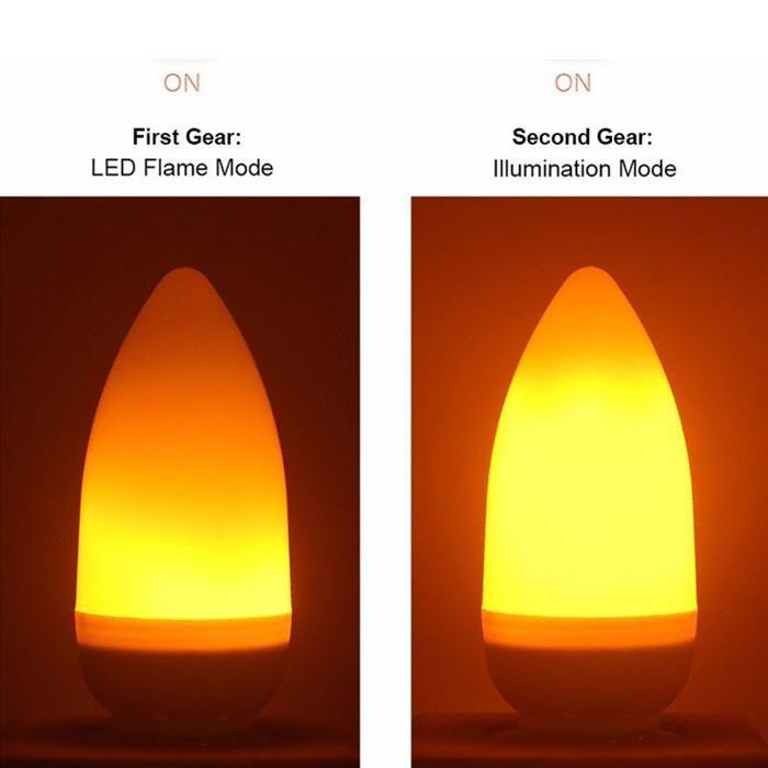 قاد E14 لهب شمعة لمبة 3W 100LM 85 -265v الألومنيوم واضح مصابيح الدافئة 1400K استشعار خطورة الإضاءة في الأماكن المغلقة مباشرة من شنتشن الصين عامل