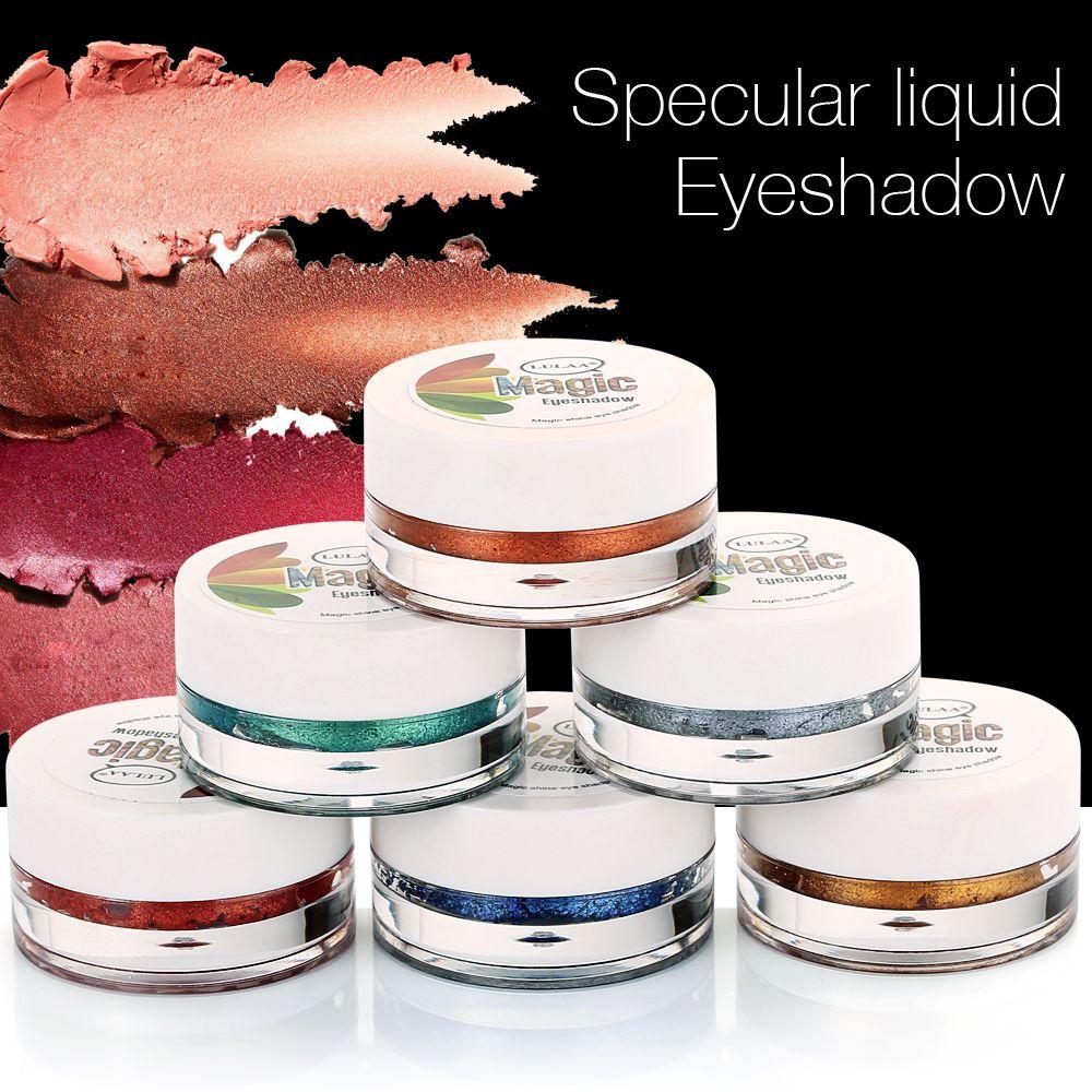 Nuevo 14 larga duración del color del maquillaje sombra de ojos Glitter Liquid Glow Shimmer Tint Cosmetics pigmento de sombra de ojos Maquiagem Easy Wear
