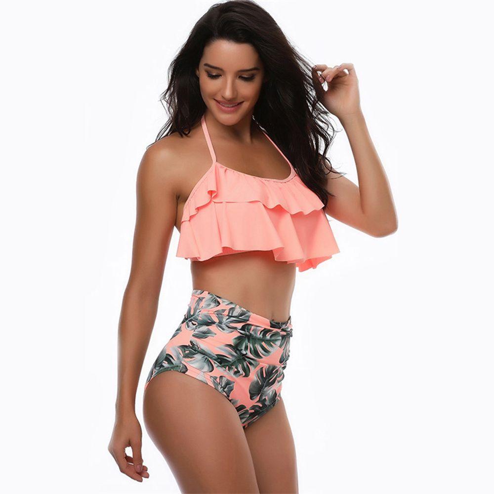 e8dac2873317 Bikinis Traje de baño para mujer Tankinis Cintura alta Traje de baño Correa  de espagueti Trajes ...