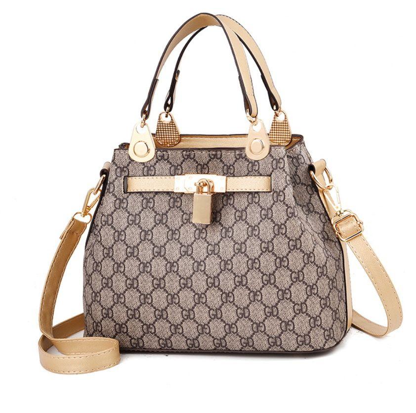 Di cuoio di modo delle signore delle donne borsa Crossbody Sacchetti di spalla morbida Messenger Borsa a tracolla Tote borse a mano con la borsa Pocket Casual