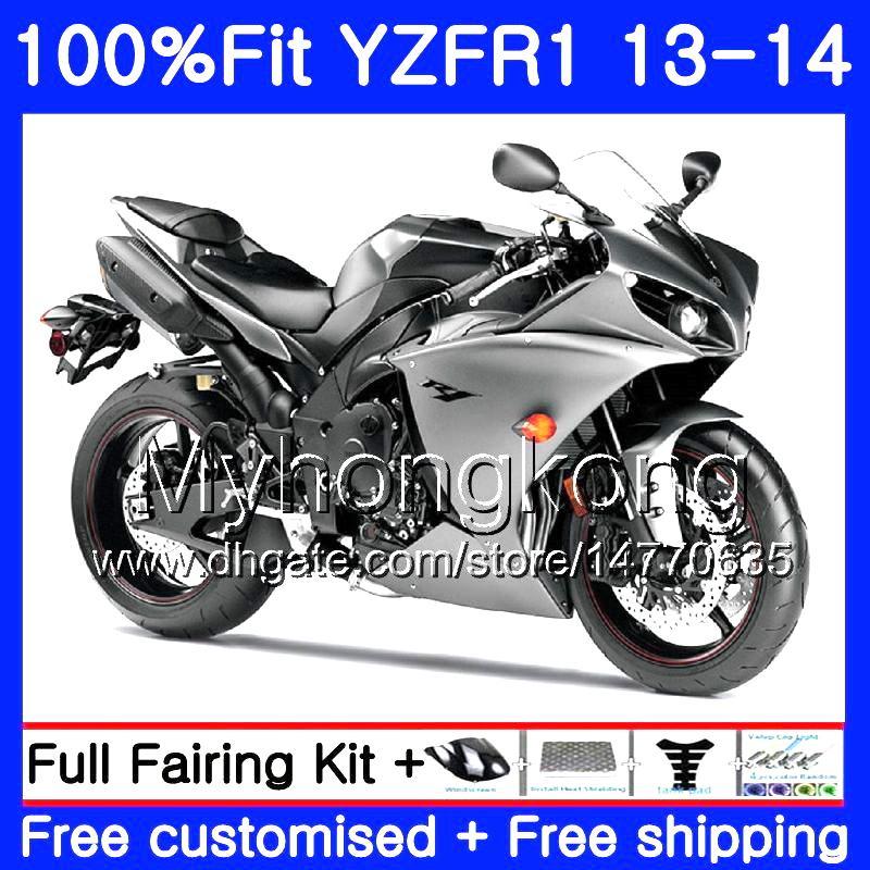 사출 광택은 고열체 YAMAHA YZF 1000 YZF R 1 YZF1000 YZF R1 13 14 242HM.32 YZF-1000 YZF-R1 YZFR1 2013 2014 전체 공정 키트